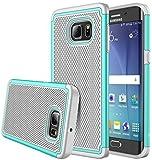 S6 Edge Plus case, iTronic Galaxy S6 Edge Plus - Double Tone Dual Layer Hybrid Defender Case for Samsung Galaxy S6 Edge Plus