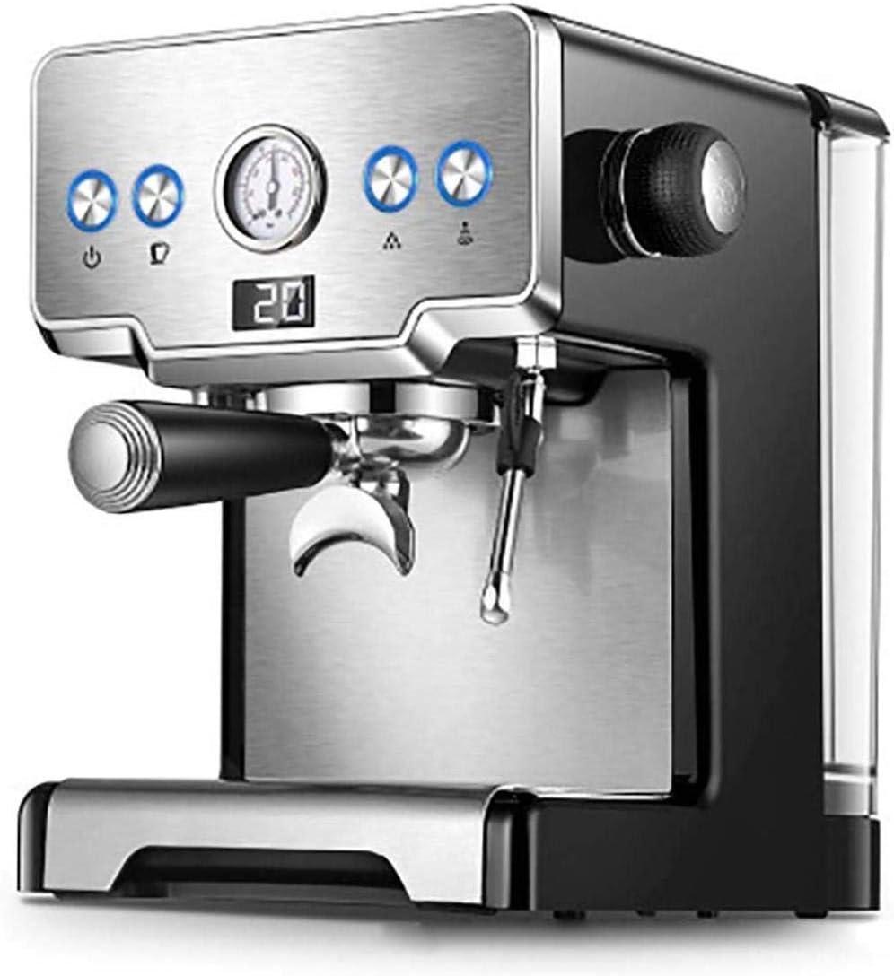 Fácil de usar cafeteras automáticas con boquilla para espumar leche, máquina de café, botones de selección directa, control giratorio, botón de encendido, función de 2 tazas, gran 1,7 l.: Amazon.es: Hogar
