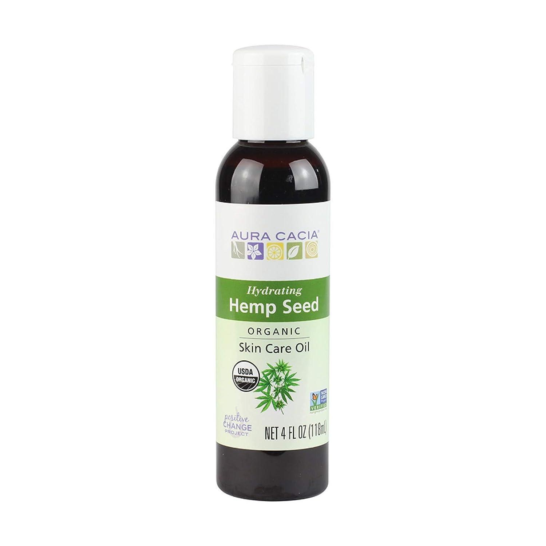Aura Cacia Certified Organic Hemp Seed Skin Care Oil | 4 fl. oz.