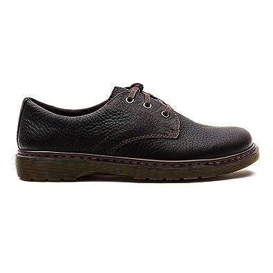 Dr. Martens Mens Andre Black Leather Shoes 11 UK: Amazon.co
