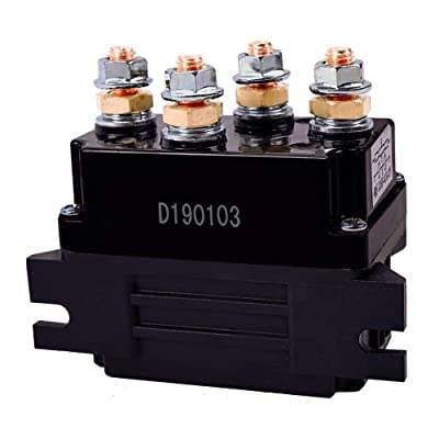 ORCISH 12V 500A Winch Solenoid Relay for 8000-15000lb ATV UTV Truck Winch Replacement: Home Improvement [5Bkhe0810072]
