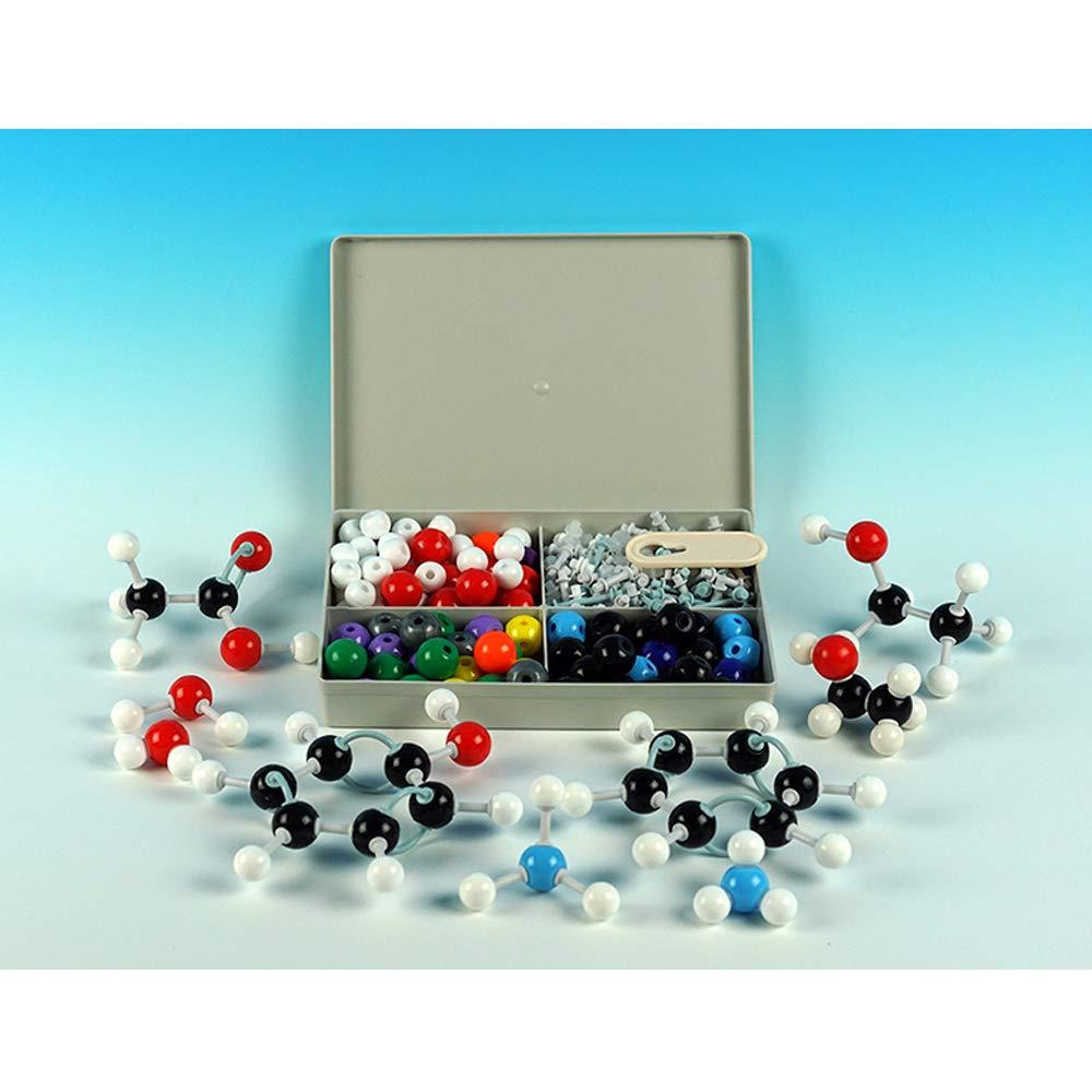 EASTCHEM Molecular Model Kit for Organic and Inorganic Chemistry(XMM-066 240Pcs) - Chemistry Molecular Model Student and Teacher Set
