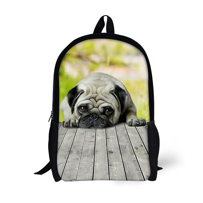 hugsidea Cute 3d animales mochila escolar negro libro bolsas: Amazon.es: Ropa y accesorios