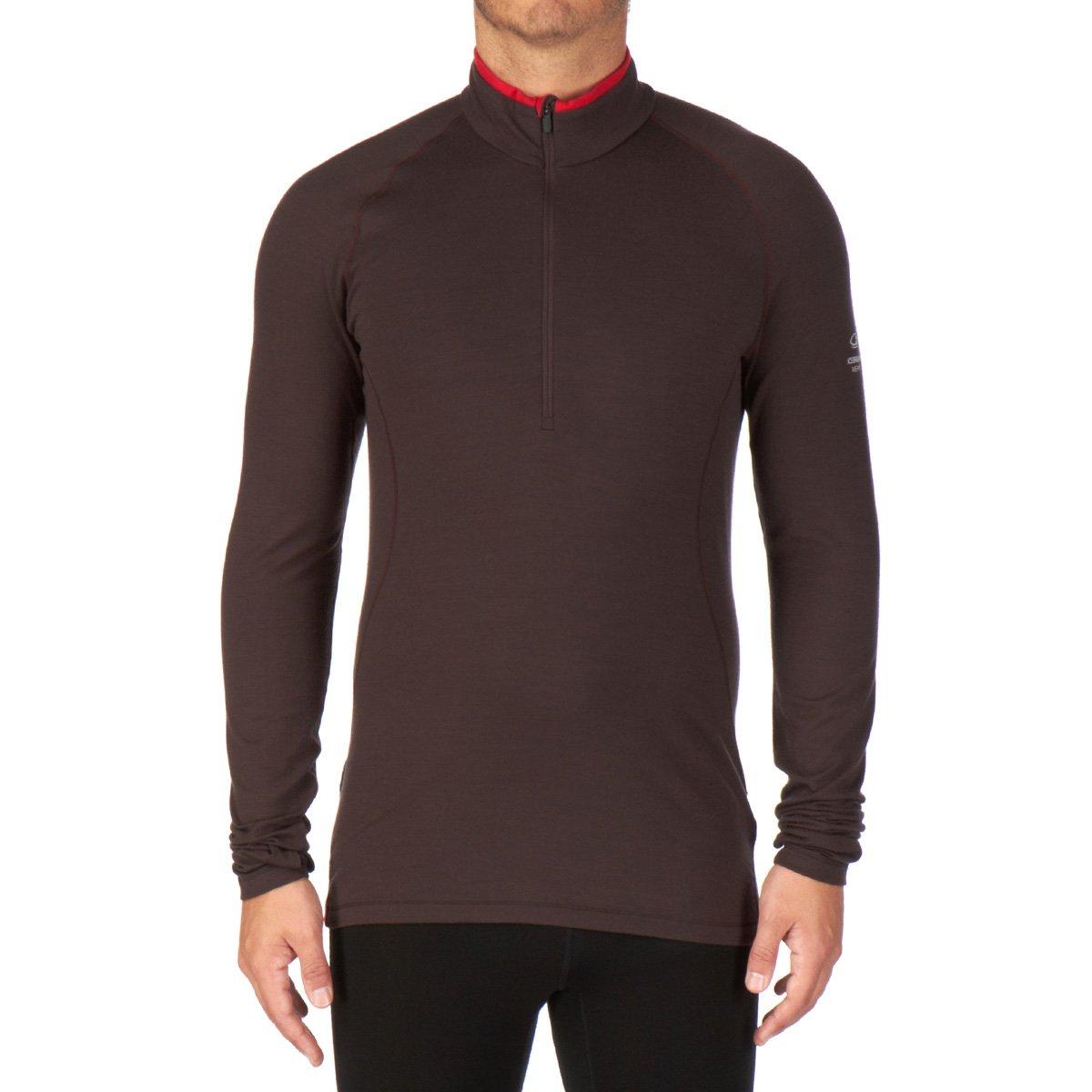 Icebreaker Herren Shirt Unterhemd langarm Rollkragen Pursuit Long Sleeve Half Zip