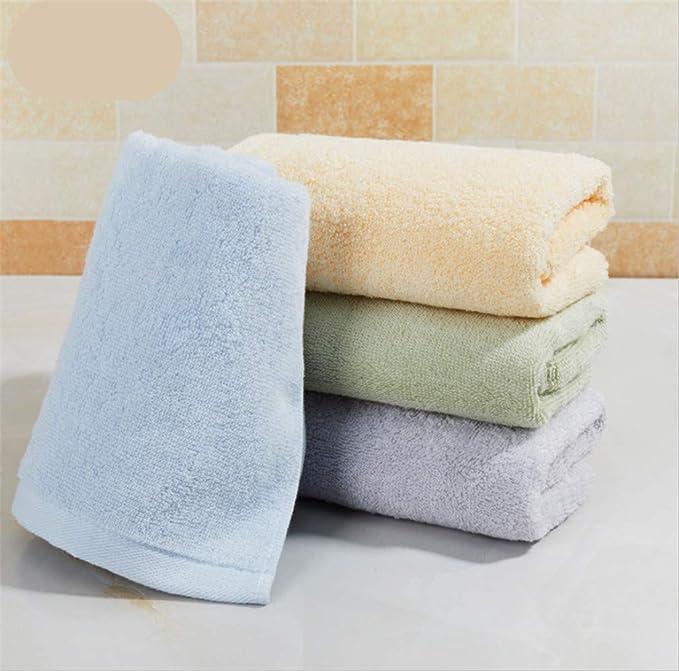 BIANJESUS Toallas de algodón Set Suave 4 Piezas Absorbente Pareja cómoda Plush Hotel Hombres Mujeres Niños Lavadora Lavable Inicio baño al Aire Libre Cocina ...