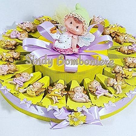 Tarta Decoración Hada Alata Lilly imanes cumpleaños Comunión ...