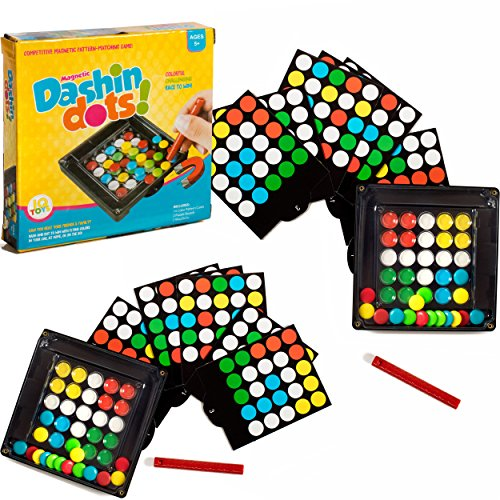 Magnetic Dashin Dots Traveling Game for 2