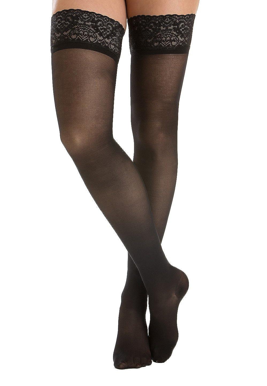 Relaxsan Prestige 870F calze elastiche autoreggenti 140 den compressione graduata Lycra 3D