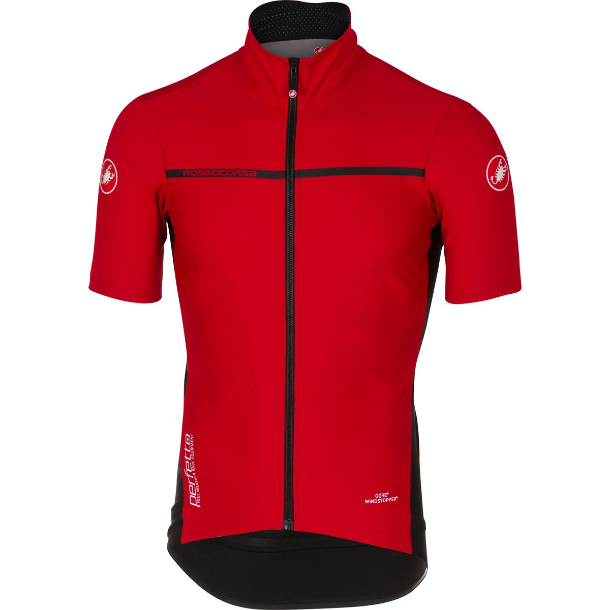 Amazon.com   Castelli 2017 Men s Perfetto Light Short Sleeve Cycling Jacket  - B17085   Sports   Outdoors 96ede4956