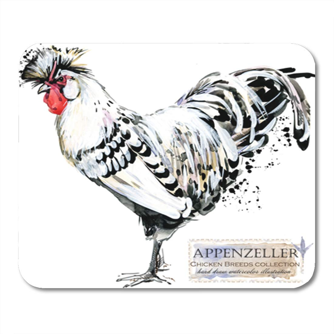 Amazon Com Semtomn Gaming Mouse Pad Appenzeller Rooster