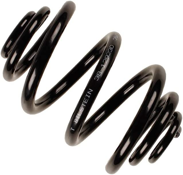 Bilstein 38-129230 B3 OE Replacement Coil Springs Rear Black Powdercoat B3 OE Replacement Coil Springs