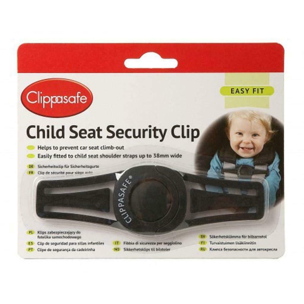 Hoolaroo Clippasafe Car Seat Security Clip Seat Belt Escape Prevent Toddler