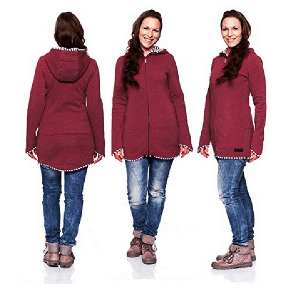 0cb1214e4 ... Sweatshirt Kangaroo Pocket Coat Jacket para bebé Embarazada usando Baby  Pullover Fleece Outerwear Sudadera con Capucha. €16.79. Añadir al carro.  Gsaknc ...
