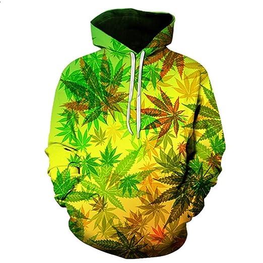 c6e3cd01c0b2 Amazon.com  Unisex 3D Hoodies Print Nightfall Trees Designed Sweatshirts  Maple Leaf Hoodies  Clothing