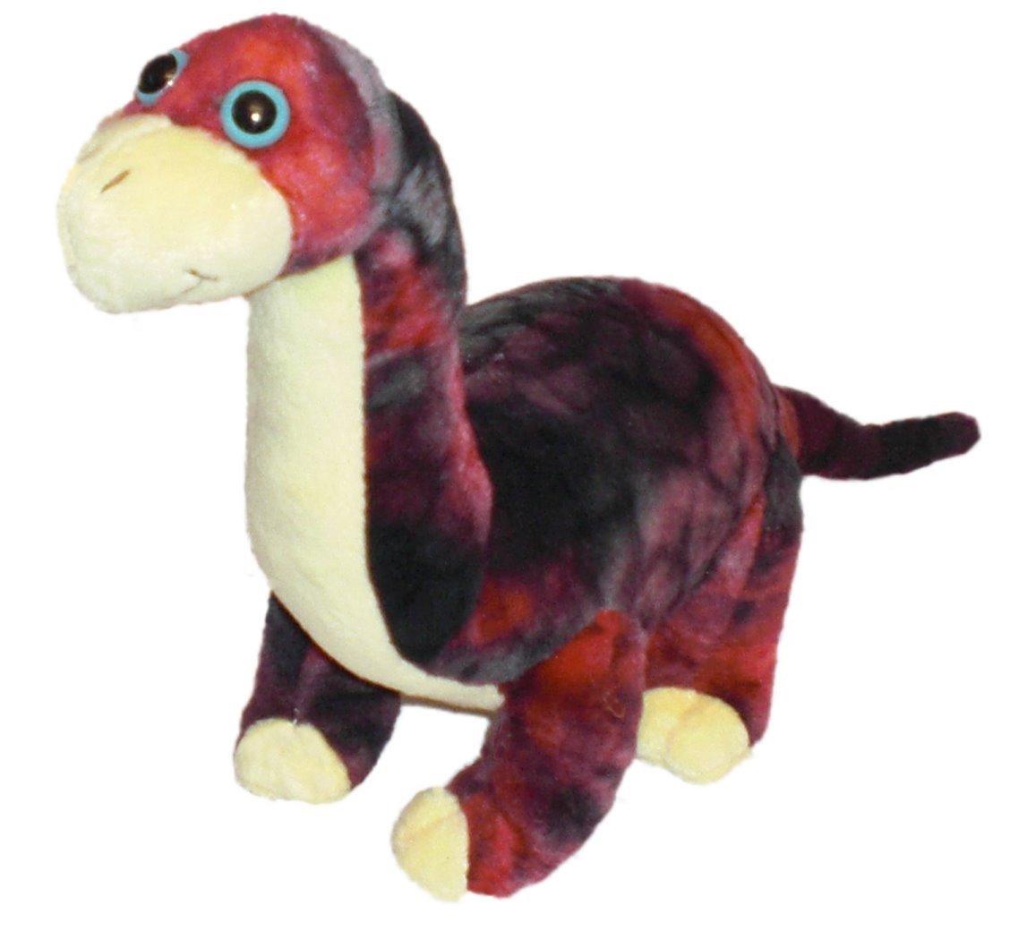 19 cm Peluche Brachiosaurus marron Inware 7501 Dinosaure