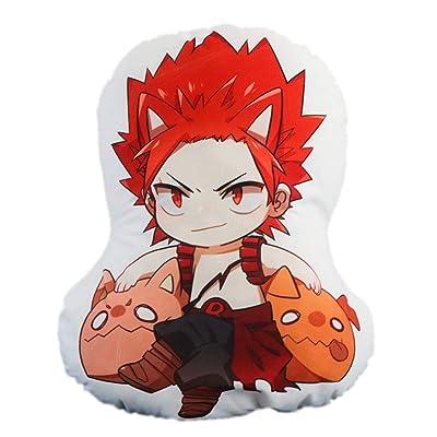 Mikucos Anime Boku No Hero My Hero Academia Kirishima Eijiro Plush Doll Toy Pillow Cushion 48CM: Toys & Games