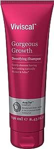 Viviscal Women's Gorgeous Growth Densifying Shampoo, 250mL