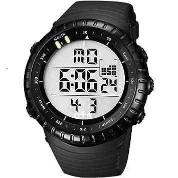 LE Relojes Hombre/Deporte, Cronómetro Multifuncional/Digital Multifuncional Multifuncional para Buceo acuático para Jóvenes Impermeable,A: Amazon.es: ...