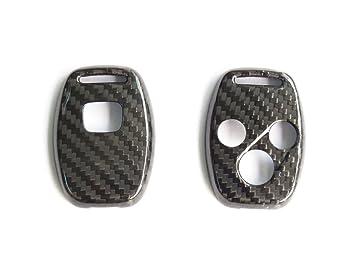 pinalloy Llavero de carbono para - carcasa de 3 botones para ...