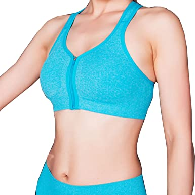 e5e05c7311 newlashua Women s High Support Sports Bra Padded Racerback Workout Bra Tops  at Amazon Women s Clothing store
