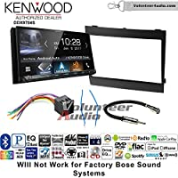 Volunteer Audio Kenwood DDX9704S Double Din Radio Install Kit with Apple Carplay Android Auto Fits 2004-2006 Pontiac GTO