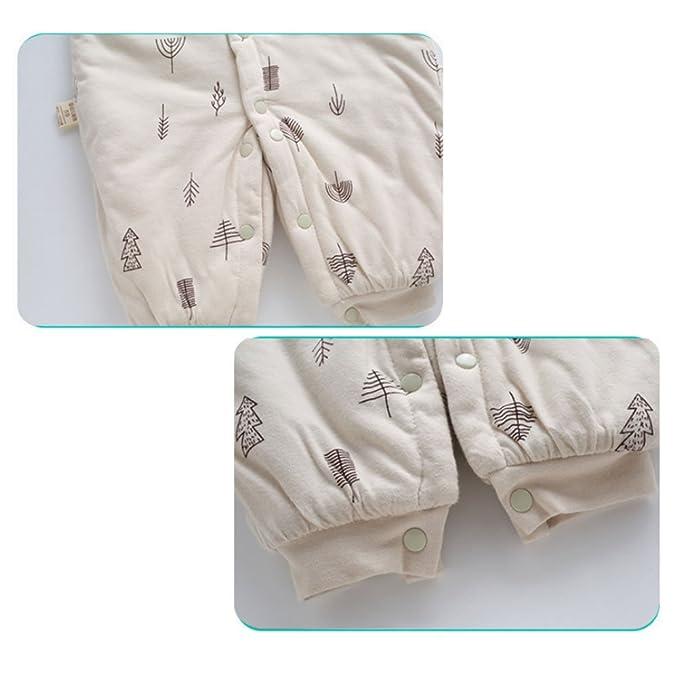 ARAUS Bebé Manga Larga Mameluco Otoño Invierno Calentar Ropa de Recién Nacido 0-9 Meses: Amazon.es: Ropa y accesorios