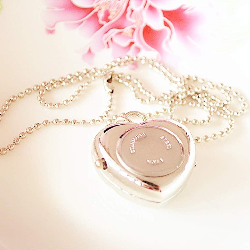 Orologio da taschino carino con diamanti vuoti di moda for il regalo di compleanno della fidanzata B