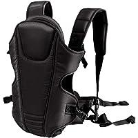 MOM'S GADGETS 4 In1 Adjustable Baby Carrier Bag/Baby Carrier/Baby Shoulder Carrier/Baby Strap Carrier/Child Safety Belt/Infant Carrier Bag/Baby Holder with Head Support and Buckle Straps (Black)