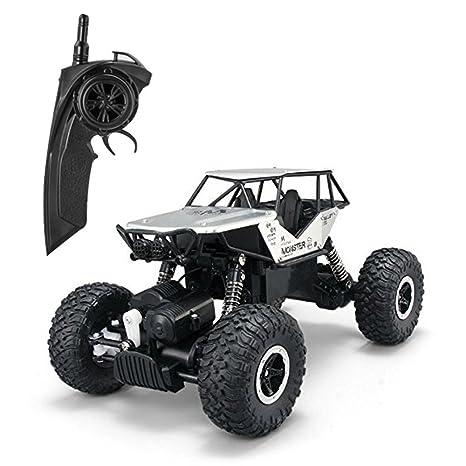 FSTgo Camión de Control Remoto 4x4 Todo Terreno Tractor para Niños 1/18 Aleación Autos