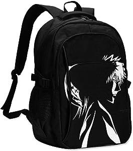 N/C Bleach Anime USB Casual Backpack