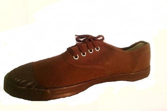 Buy BATA Brown BBTS Tennis Canvas Shoes
