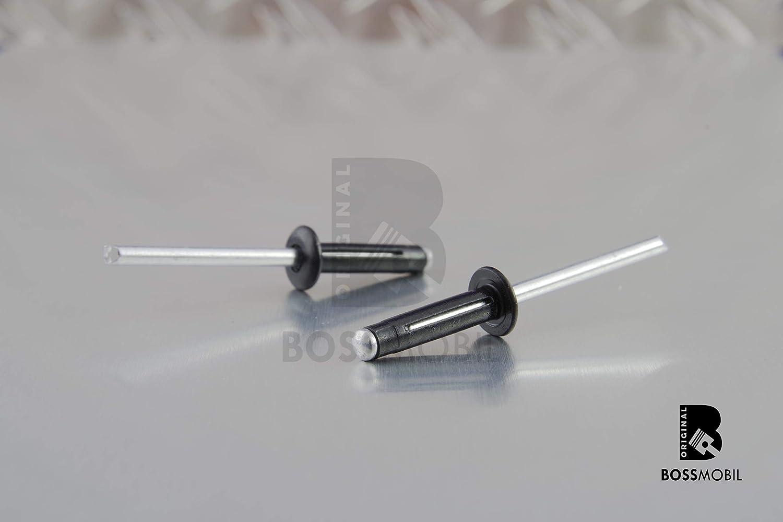 ORIGINAL BOSSMOBIL aluum rivet 4,8X20,5mm universel Nouveau 10 X 20 X 5 mm