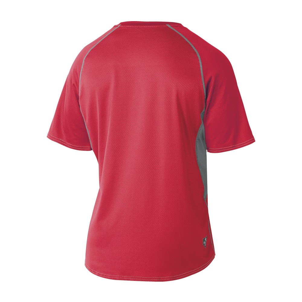 DeMarini Mens Game Day Short Sleeve Shirt Wilson Sporting Goods Team