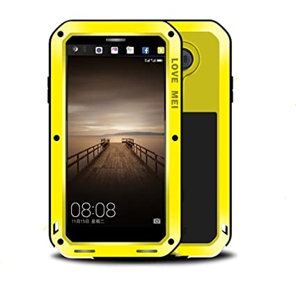 huge discount 3d1eb f196c HUAWEI Mate 9 Case,Love Mei Outdoor sport waterproof Shockproof Dirtproof  with Glass Heavy Duty Protective Hard Shell Aluminum Metal Cover with 5.9