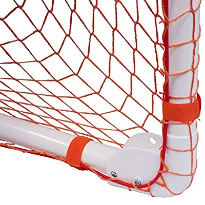 Park & Sun Sports Bungee-Slip-Net Replacement Nylon Goal Net (Lacrosse and Soccer/Multi-Sport)
