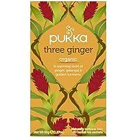 Pukka Organic Three Ginger Herbal Tea, 20 Tea Bag, 36g