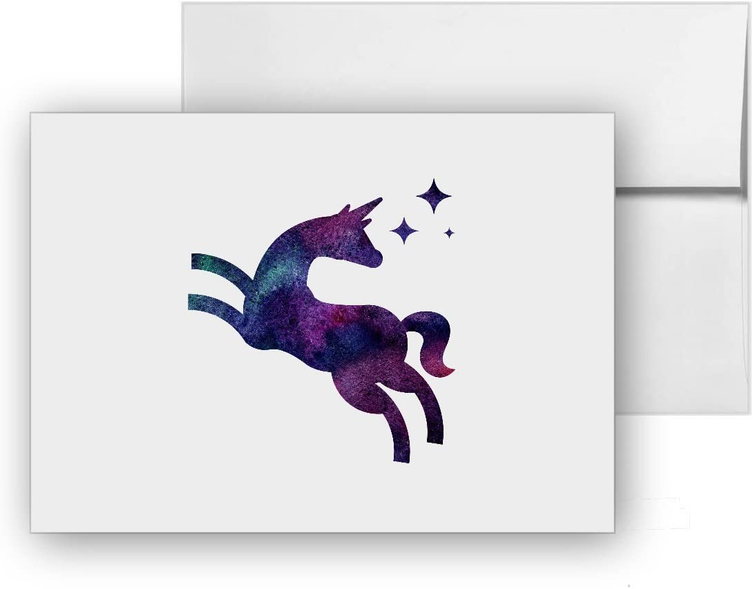 Magical Birthday Unicorn Card 6x4 Inches With Envelope