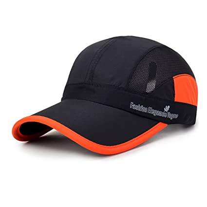 29ed9a19 Gisdanchz Hat Quick Dry,Mesh Hat for Men,UV Protection Breathable Outdoor  Hats for