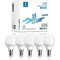 Aigostar - Bombilla LED E14 7W, Luz Fría 6400K 560 Lúmen, Ahorro de Energía. No…