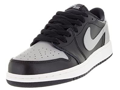 new concept 61256 9f29e Image Unavailable. Image not available for. Color  Nike Kids Air Jordan 1  Retro Low ...
