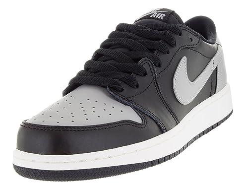 e2c52098424ba AIR JORDAN 1 LOW OG BG (GS)  SHADOW  - 709999-003 - SIZE 6  Amazon.co.uk   Shoes   Bags