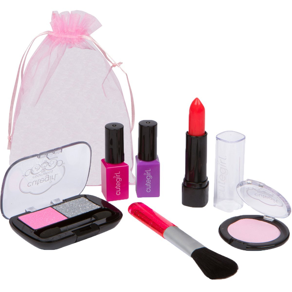 Pretend Makeup Play Petite Set For Children By Cutegirl Cosmetics | EBay