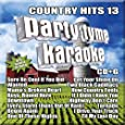 Party Tyme Karaoke - Country Hits 13 [16-song CD+G]