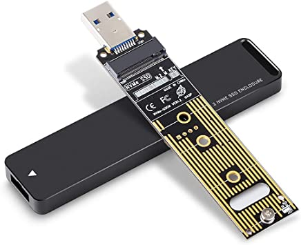 PCIE M.2 Docking Station USB 3.0 2.5/'/' HDD Enclosure External Box 2242//2260//2280