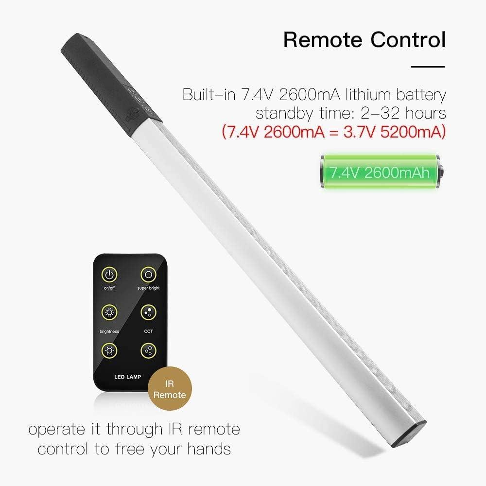 Luxceo Q508s Led Dimmebar Handheld Led Video Light Bar Camera Photo
