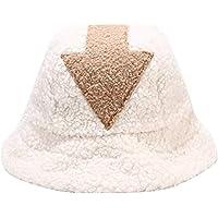 Avatar Appa Bucket Hat, White Bucket hat Faux Fur hat, Unisex Woolen Winter Hats