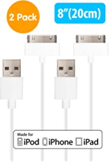 amazon com apple mfi certified homespot sync charge 5 13cm apple mfi certified homespot sync charge 30 pin to usb cable value pack
