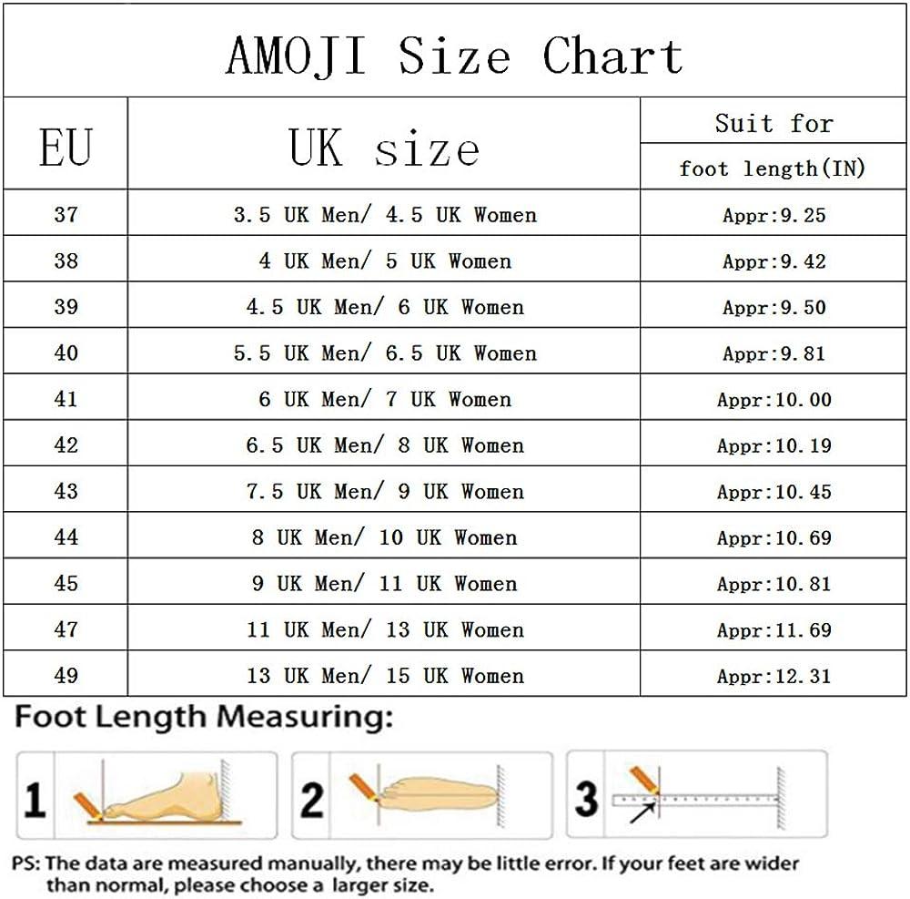 Amoji Unisex Garden Clogs Shoes Slippers Sandals AM1702