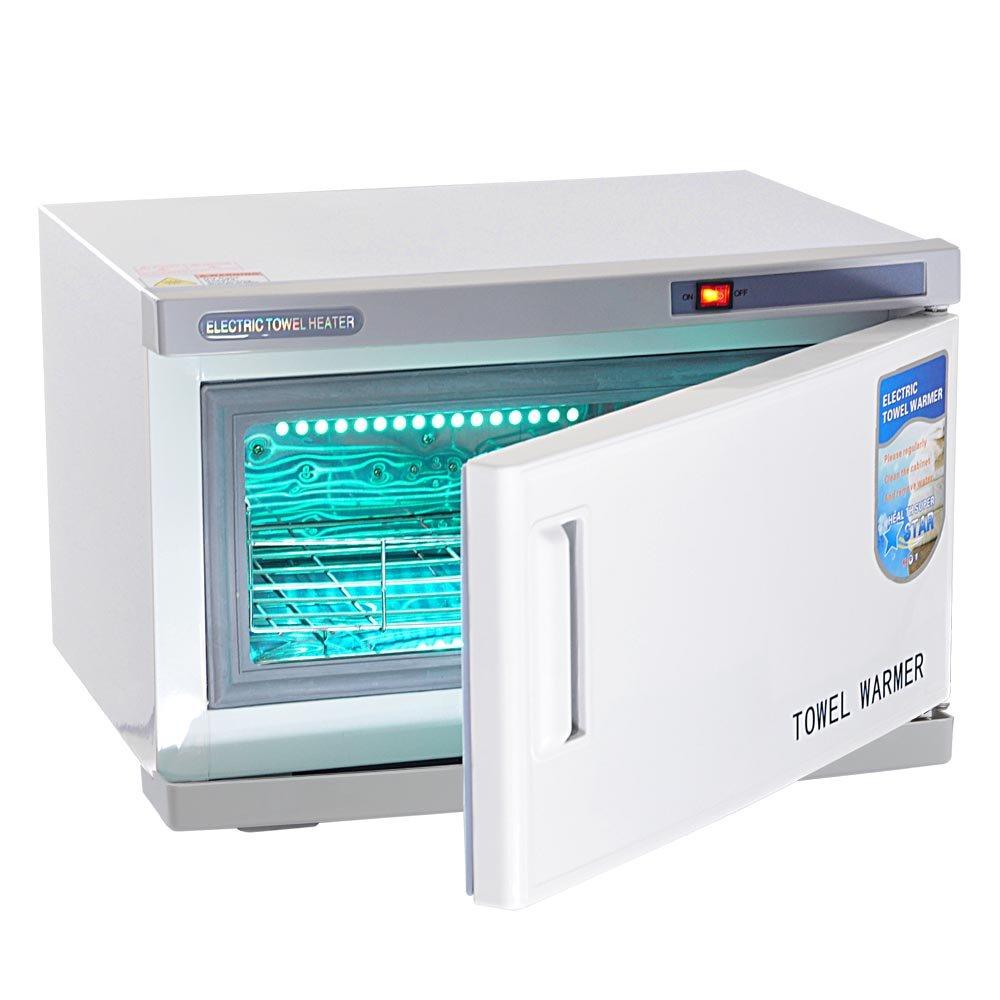amazoncom aw 16l uv sterilizer 2 in 1 hot towel warmer cabinet spa hair beauty salon equipment scissor health beauty