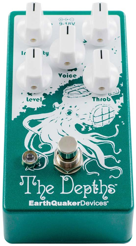 63ad82d45e30 EarthQuaker Devices The Depths V2 Analog Optical Vibe Machine Guitar  Effects Pedal
